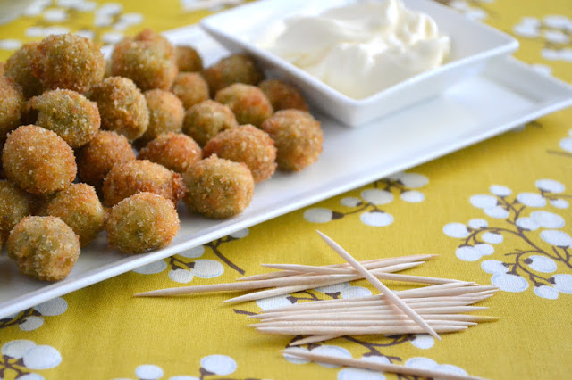Fried Olives via The View From Great Island