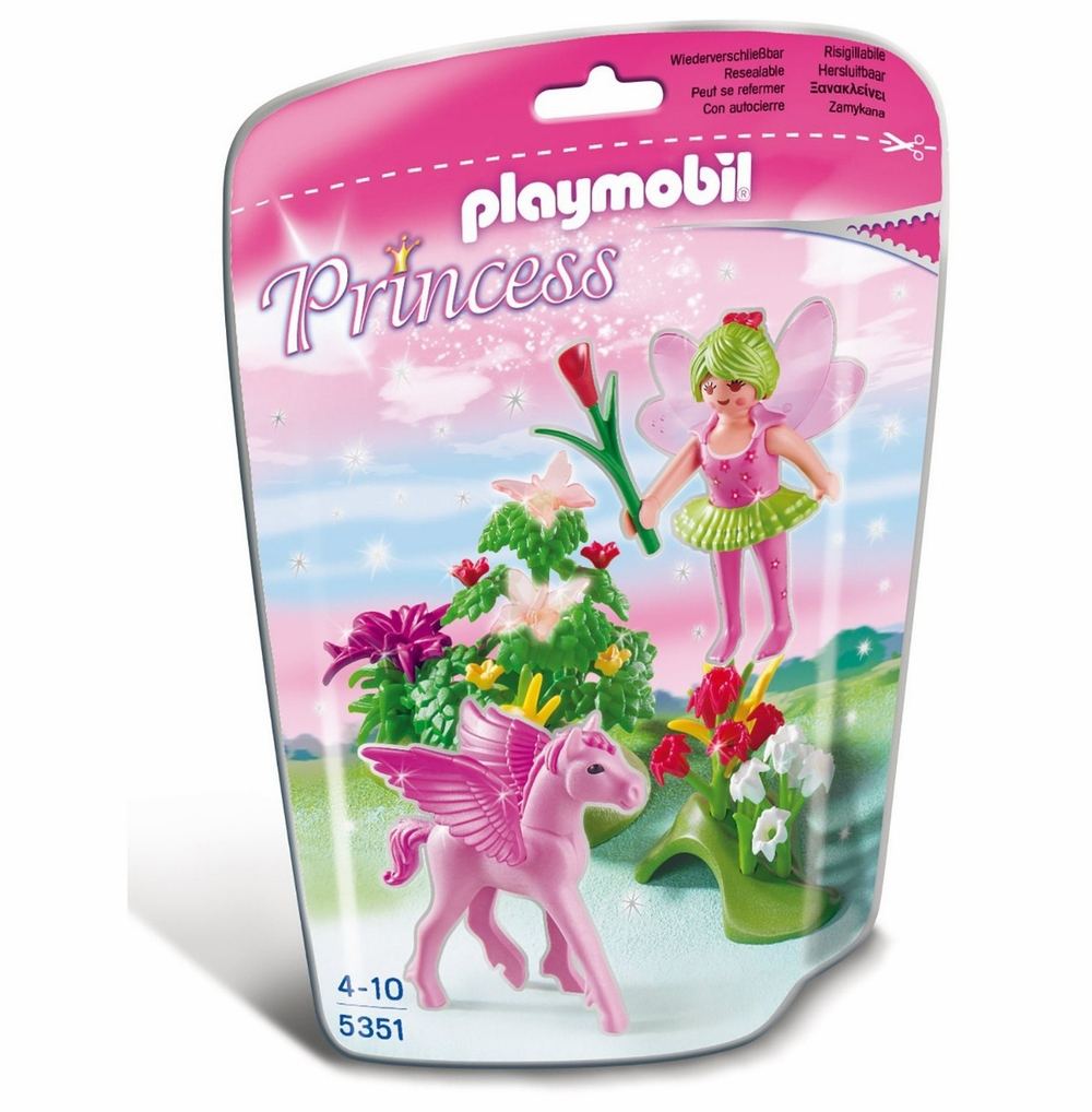 Fairy Princess with Pegasus, Playmobil 5351, Ages 4+ $12.99