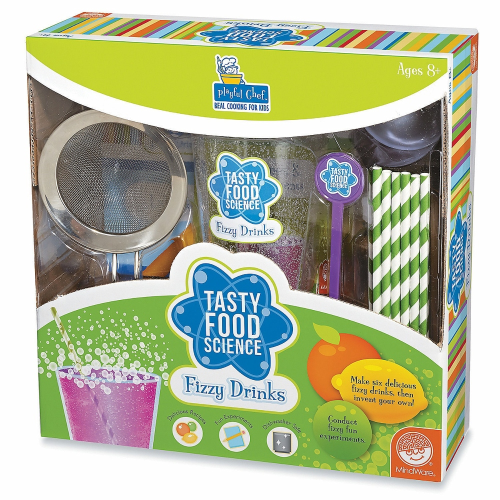 Tasty Food Science: Fizzy Drinks, Ages 8+ $24.99