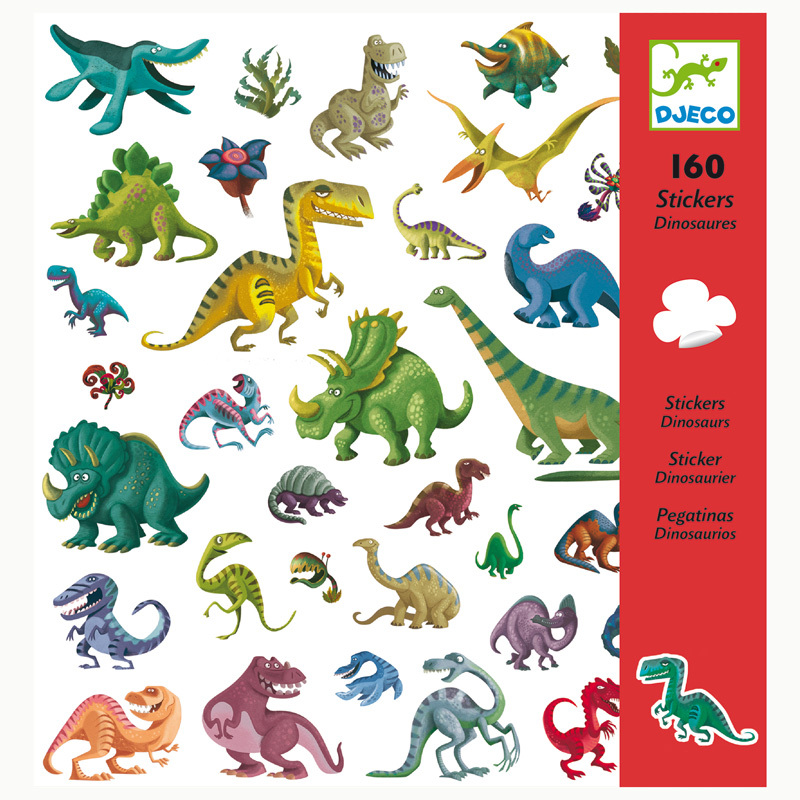 Dinosaur Stickers by Djeco $4.99