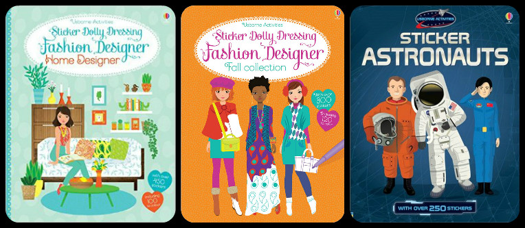 Sticker Dolly Dressing Activity Books, Ages 3+ $9.99