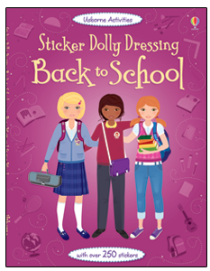 Sticker Dolly Dressing: Back to School $8.99