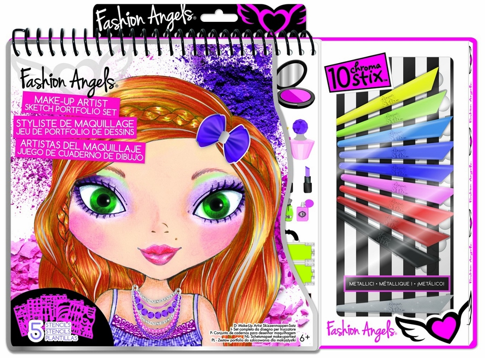Make-Up Artist Sketch Portfolio Set, Ages 6+ $12.99