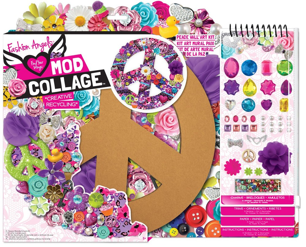 Mod Collage, Ages 8+ $14.99