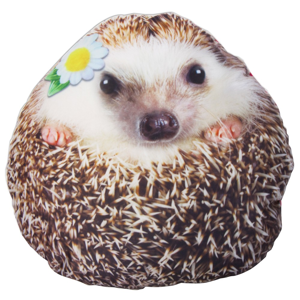 Squishy Hedgehog Pillow $17.99