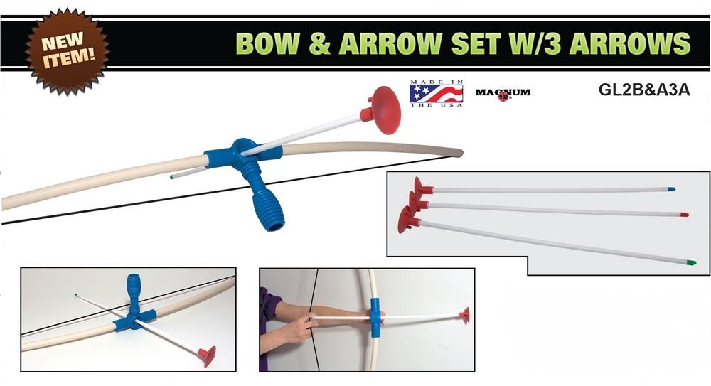 Bow & Arrow Set, Ages 8+ $14.99