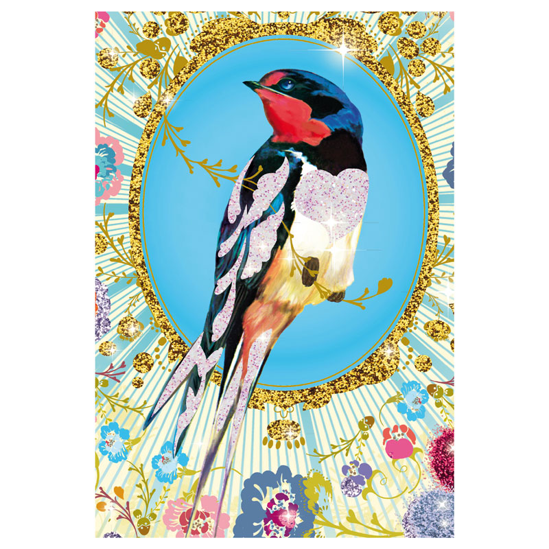 Glitter Birds Craft Kit by Djeco, Ages 7+ $19.99