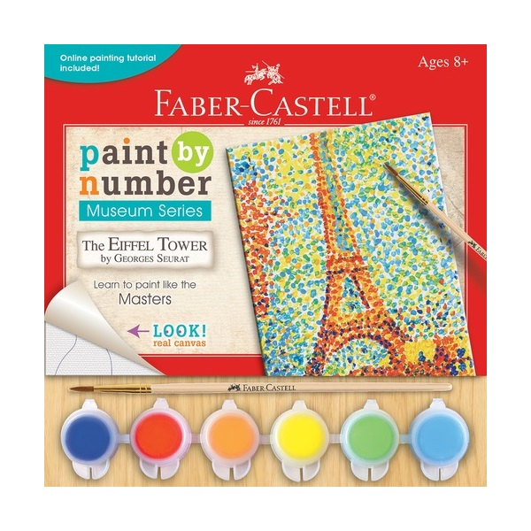 Faber Castell Paint by Number Museum Series $7.99 for ages 8+
