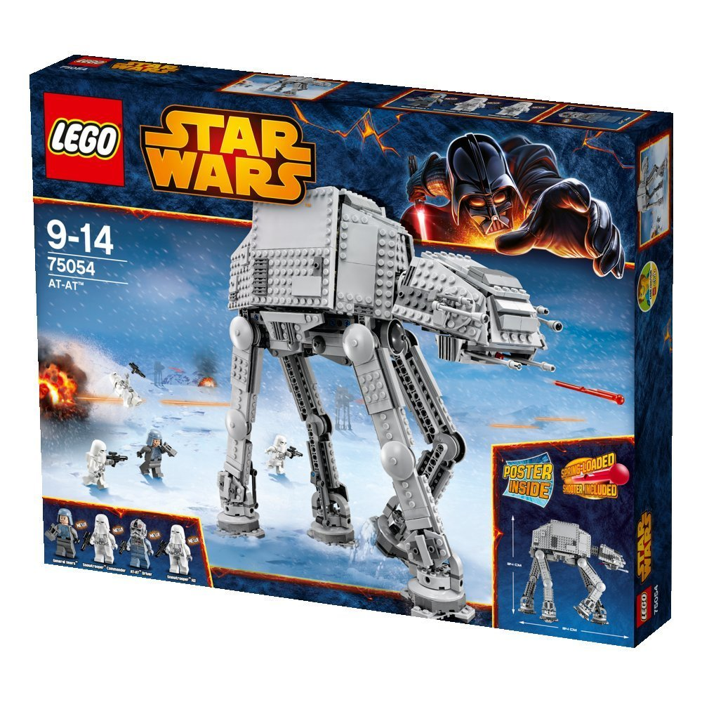 Lego AT-AT, Ages 9+ $124.99