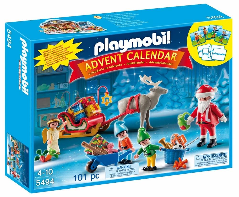'Santa's Workshop'Playmobil Advent Calendar, Ages 4+ $28.99