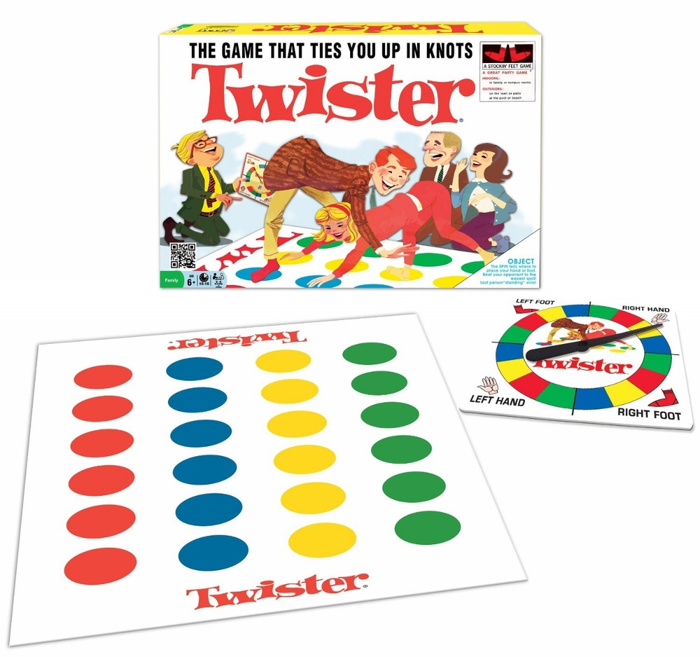 Twister, Ages 6+ $22.99