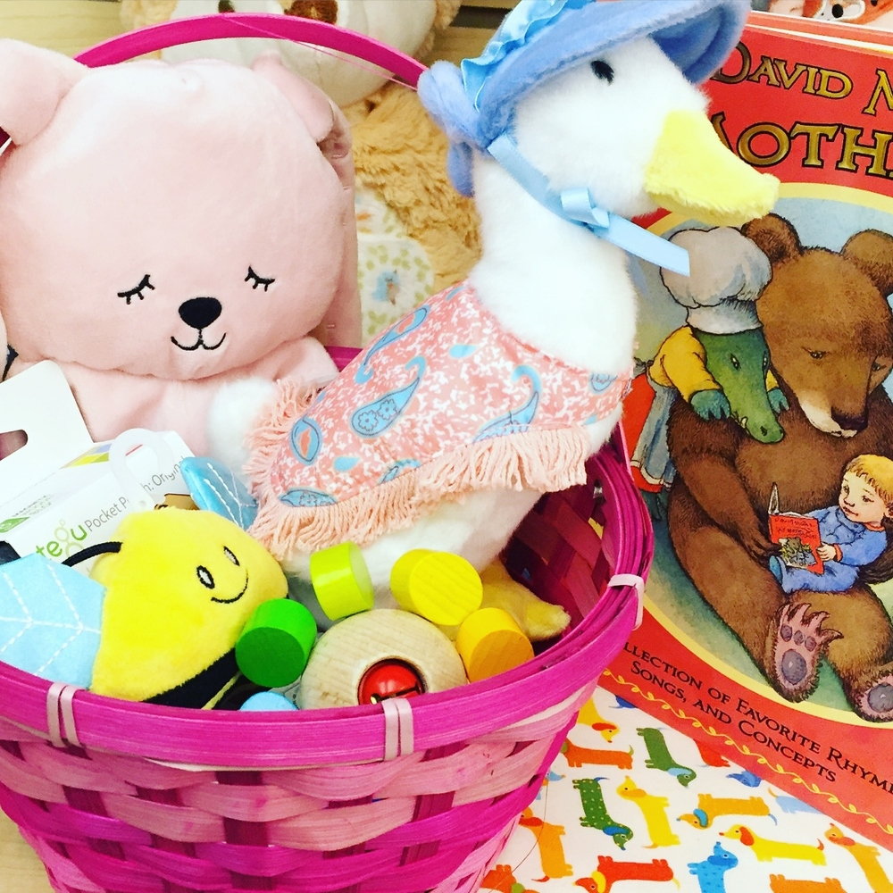 Easter Basket for Baby!