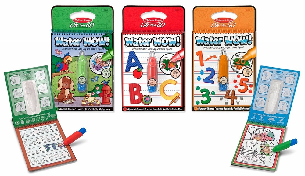 Water Wow! Activity Books by Melissa & Doug  $4.99