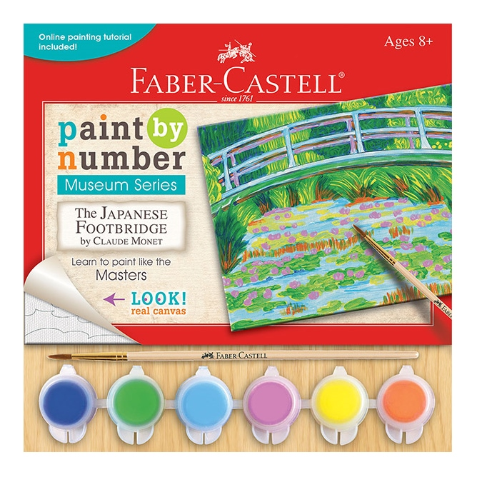 Paint By Number Canvas Kits, Ages 8+ $7.99