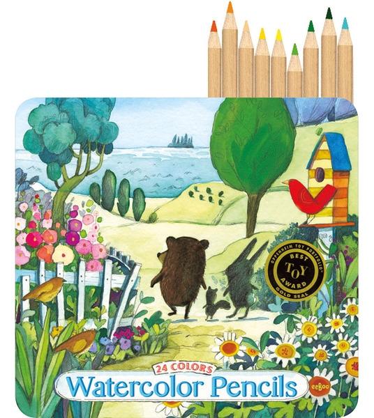 Watercolor Pencils by Eeboo $17.99