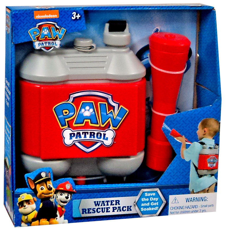 Paw Patrol Water Rescue Pack, Ages 3+ $17.99