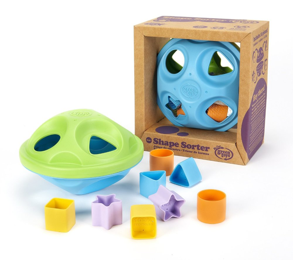 Shape Sorter by Green Toys, Ages 6 months+  $19.99