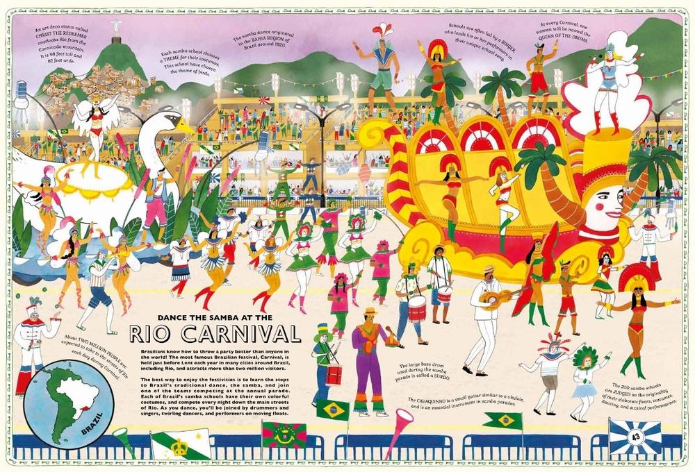Illustrations from Atlas of Adventures