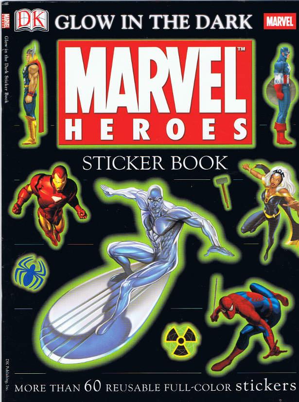 Superhero Sticker Books $6.99 - $12.99