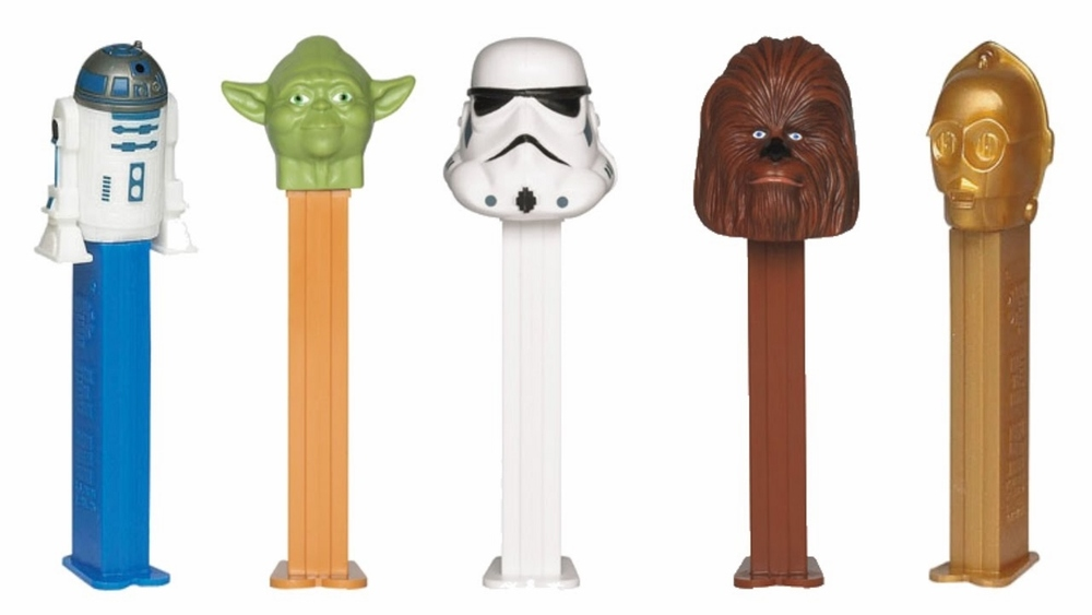 Star Wars Pez Dispensers $1.99