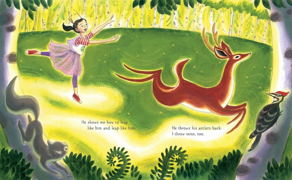 Illustration from by Mary Lyn Ray, illustrated by Lauren Singer