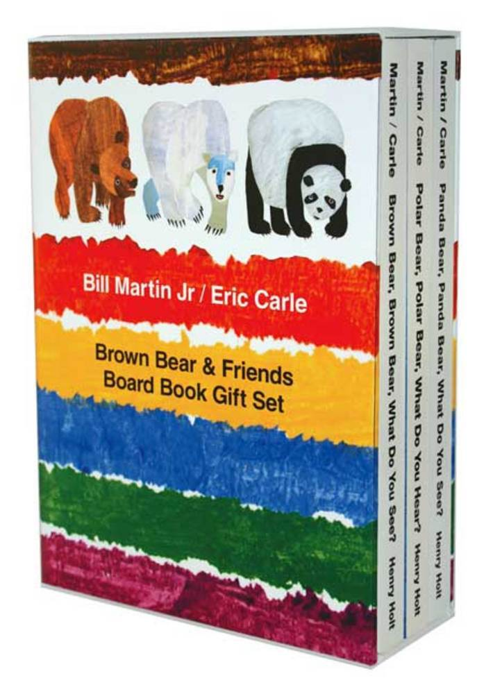 Brown Bear & Friends Board Book Gift Set by Bill Martin Jr., illustrated by Eric Carle$23.95