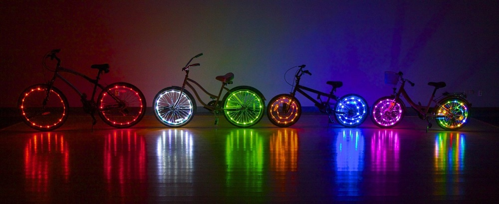 Wheel Brightz $14.99 per pack, each pack contains lights for one wheel