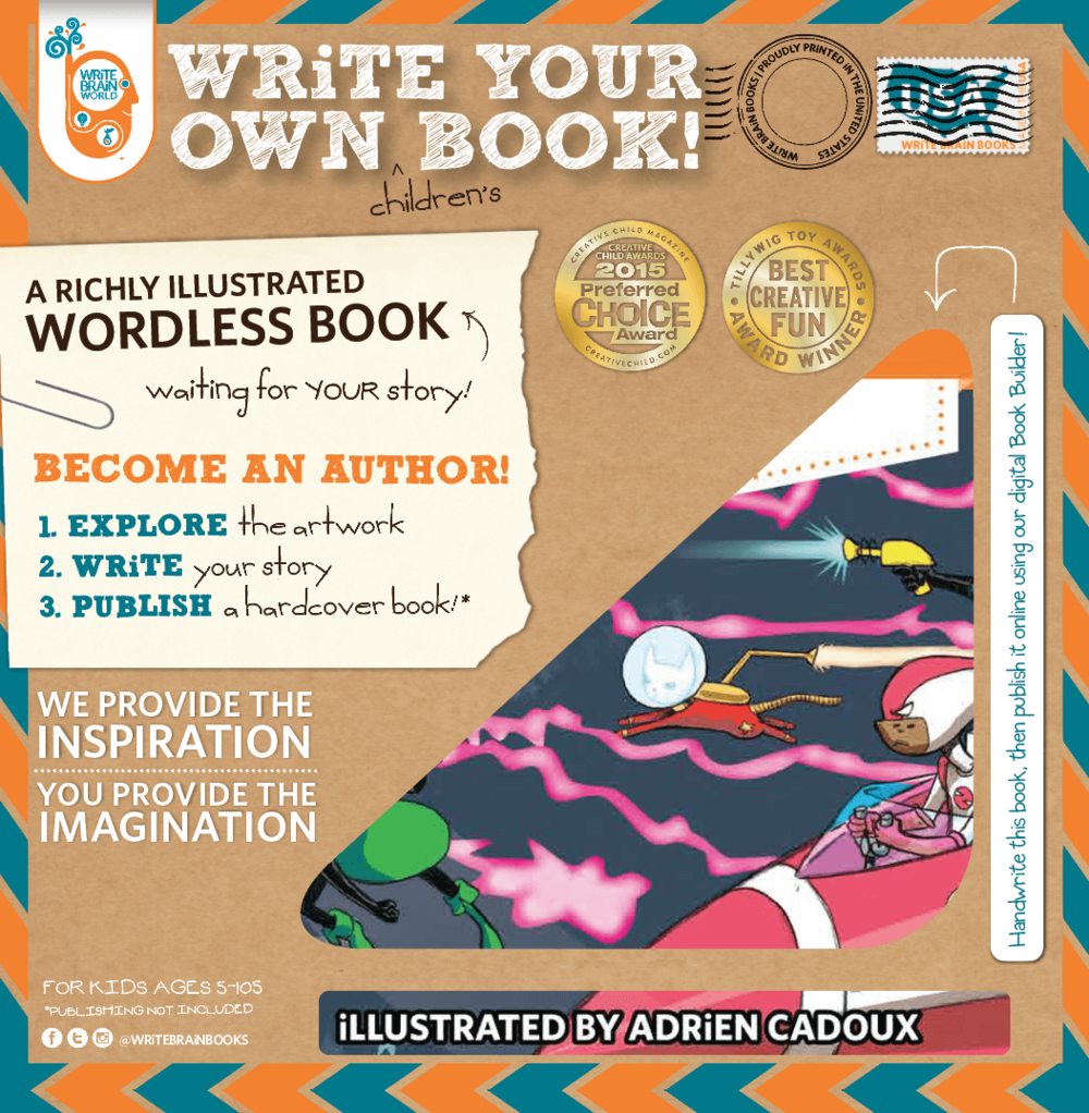 Write Your Own Book!, Ages 5+ $12.99