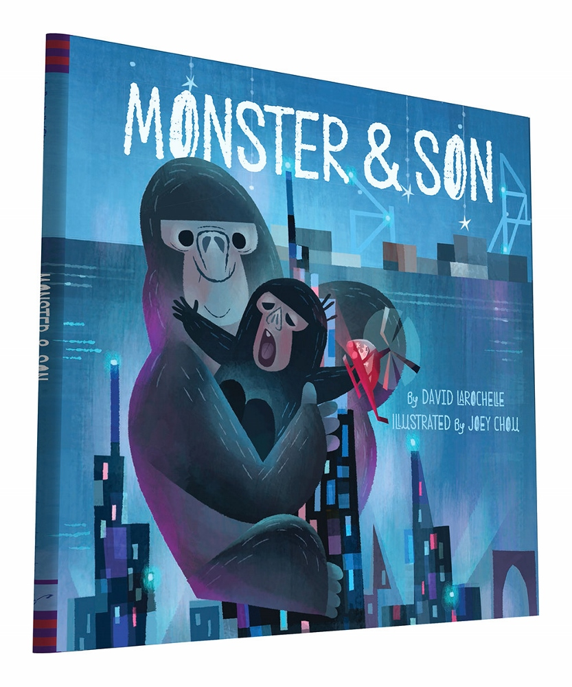 Monster & Son by David LaRochelle, illustrated by Joey Chou  $16.99