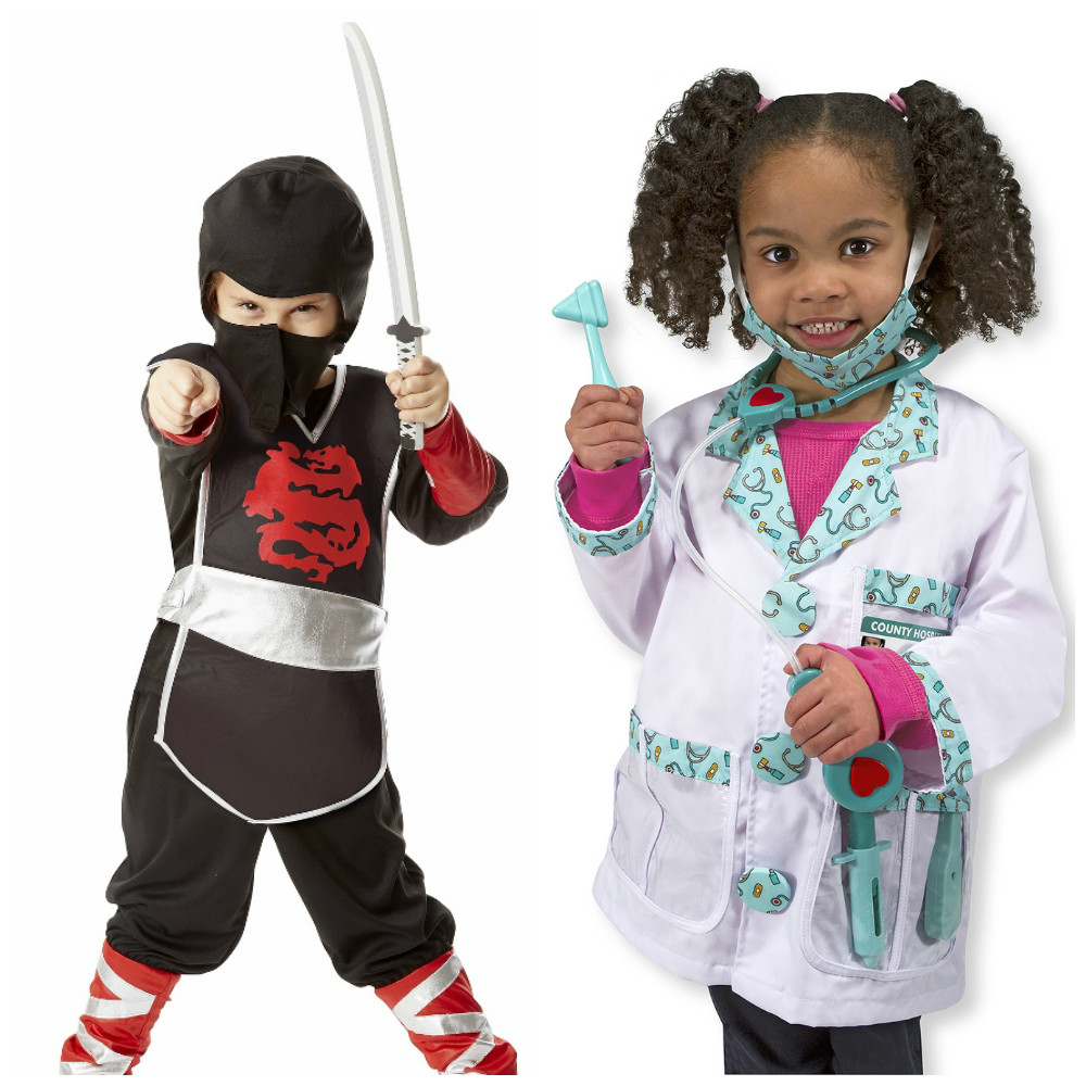 all in one costume sets from melissa doug sized for ages 3 - Halloween Stores Portland Or