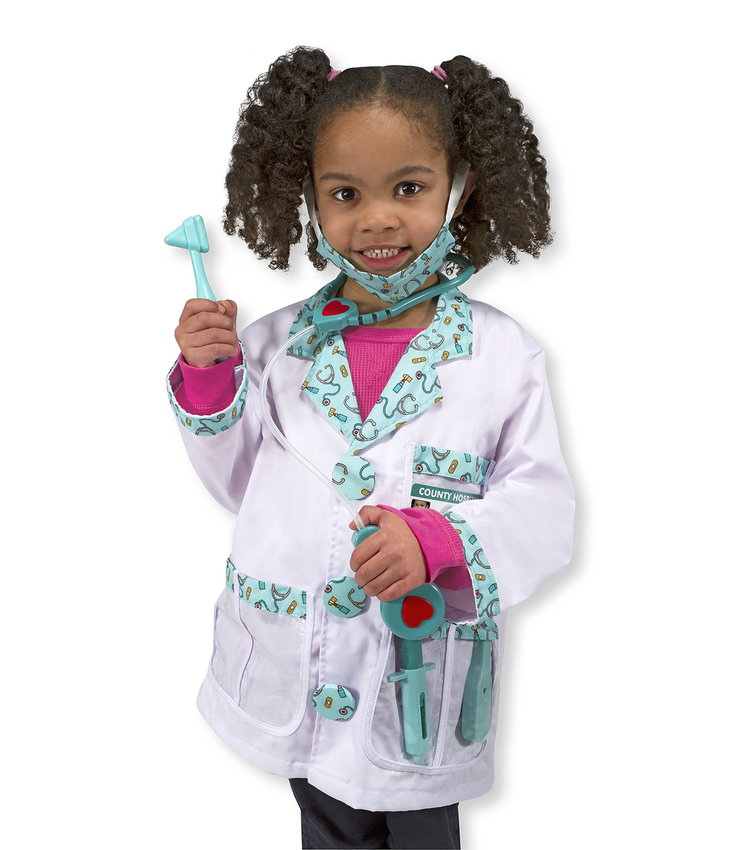doctor costume by melissa doug sized for ages 3 6 2999 - Halloween Stores Portland Or