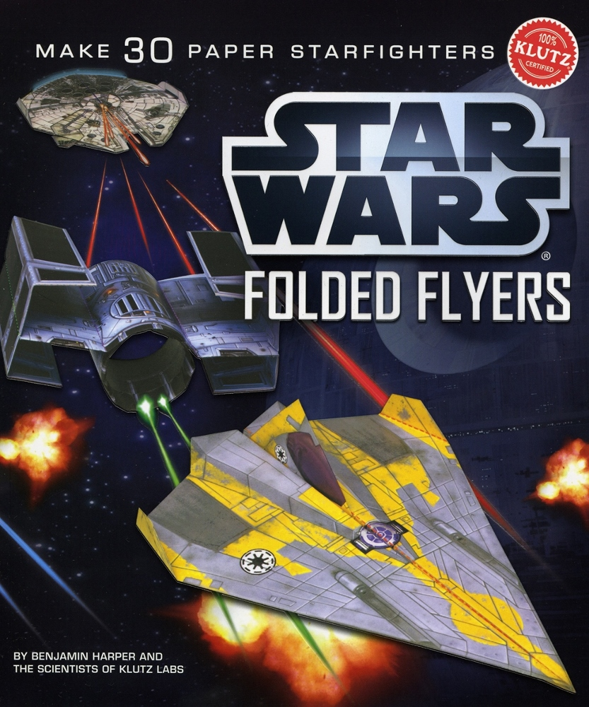 Star Wars Folded Flyers by Klutz, Ages 8+ $19.99