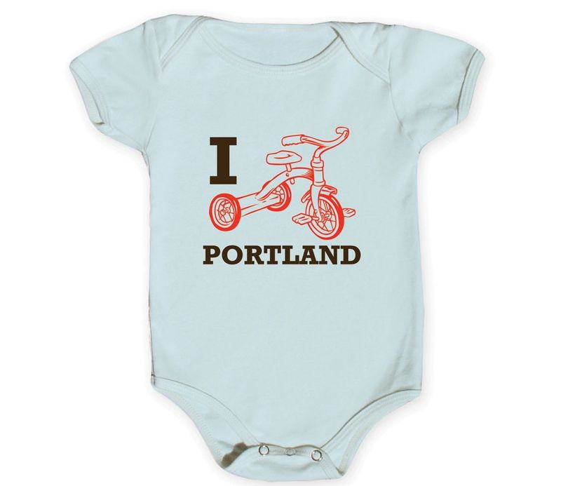 Portland Onesies, Sizes 3 - 12 months+ $24.99