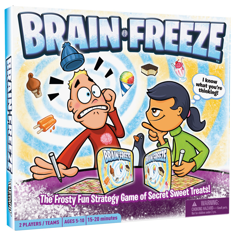 Brain Freeze, Ages 5+  $24.99