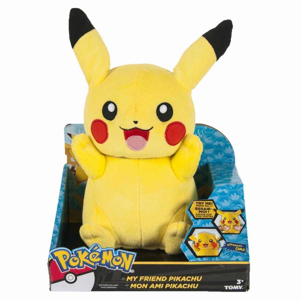 Talking Pikachu, Age 3+  $39.99