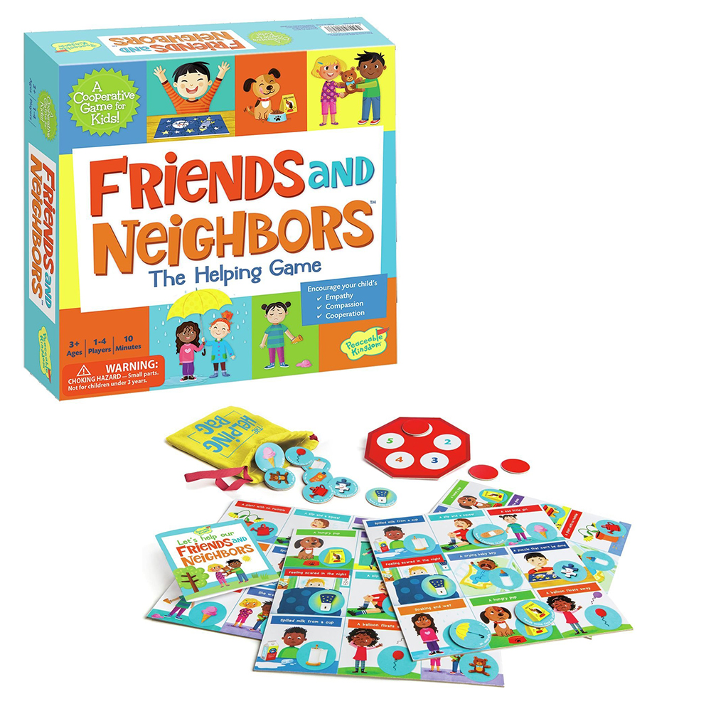 Friends and Neighbors Cooperative Game by Peaceable Kingdom $17.99
