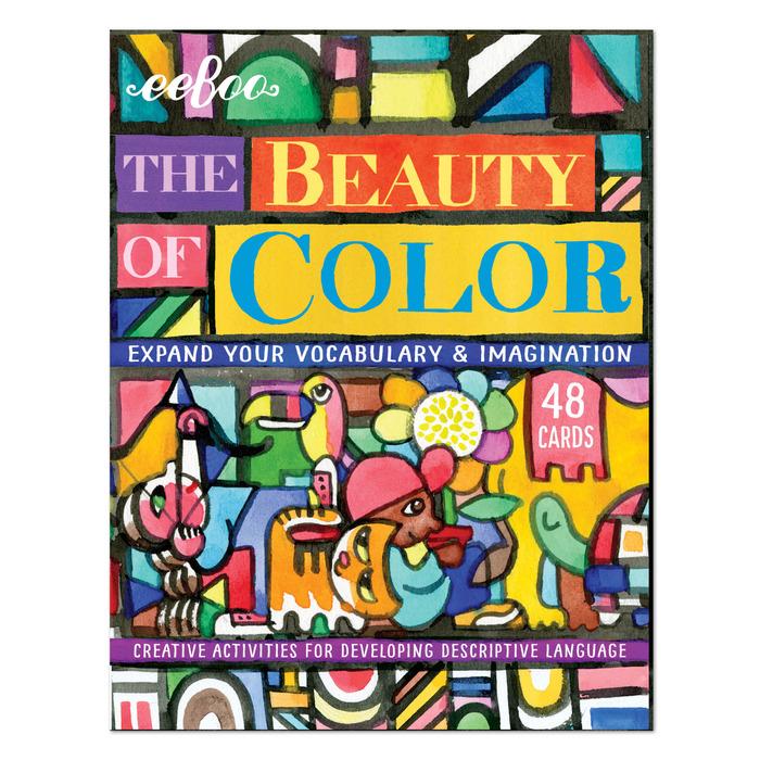 Eeboo Color Flashcards, 3+, $12.99