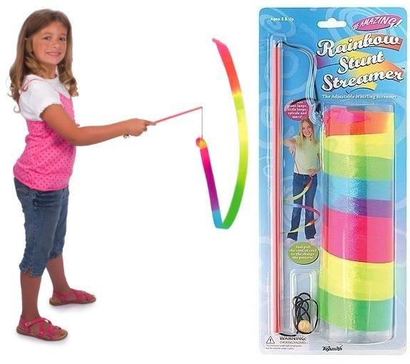 Rainbow Stunt Streamer, 5+, $7.99