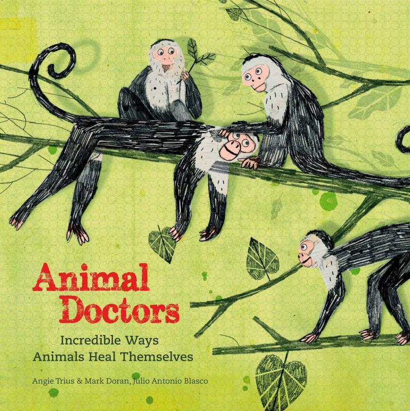 Animal Doctors: Incredible Ways Animals Heal Themselves by Angie Trius & Mark Doran, Illustrated by Julio Antonio Blasco