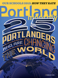 Portland Monthly February 2013