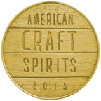 American Craft Spirits Association— Gold, 2015