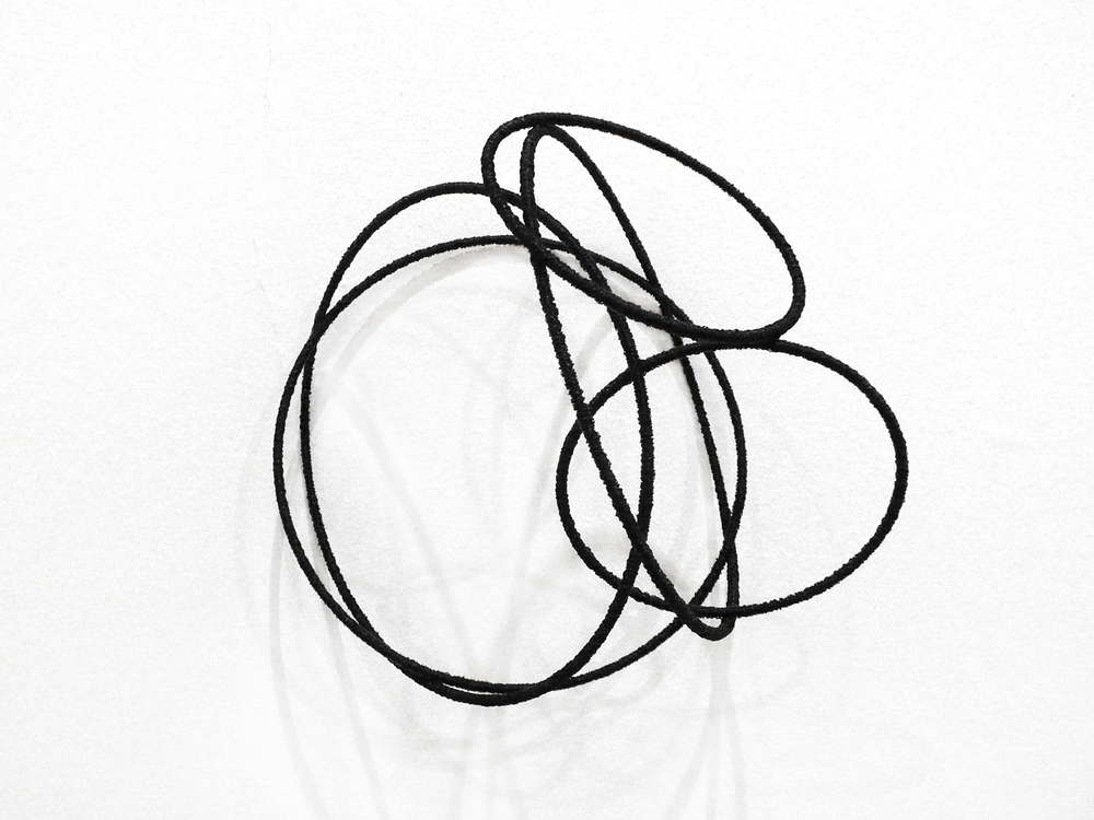 Island ll , 2012, metal, wire, diameter ca 30cm