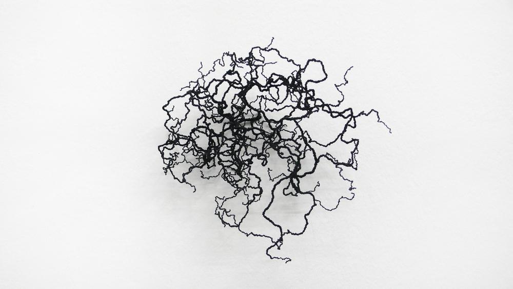 bourdon, 2010, nylon, 23 x 25 x 30cm