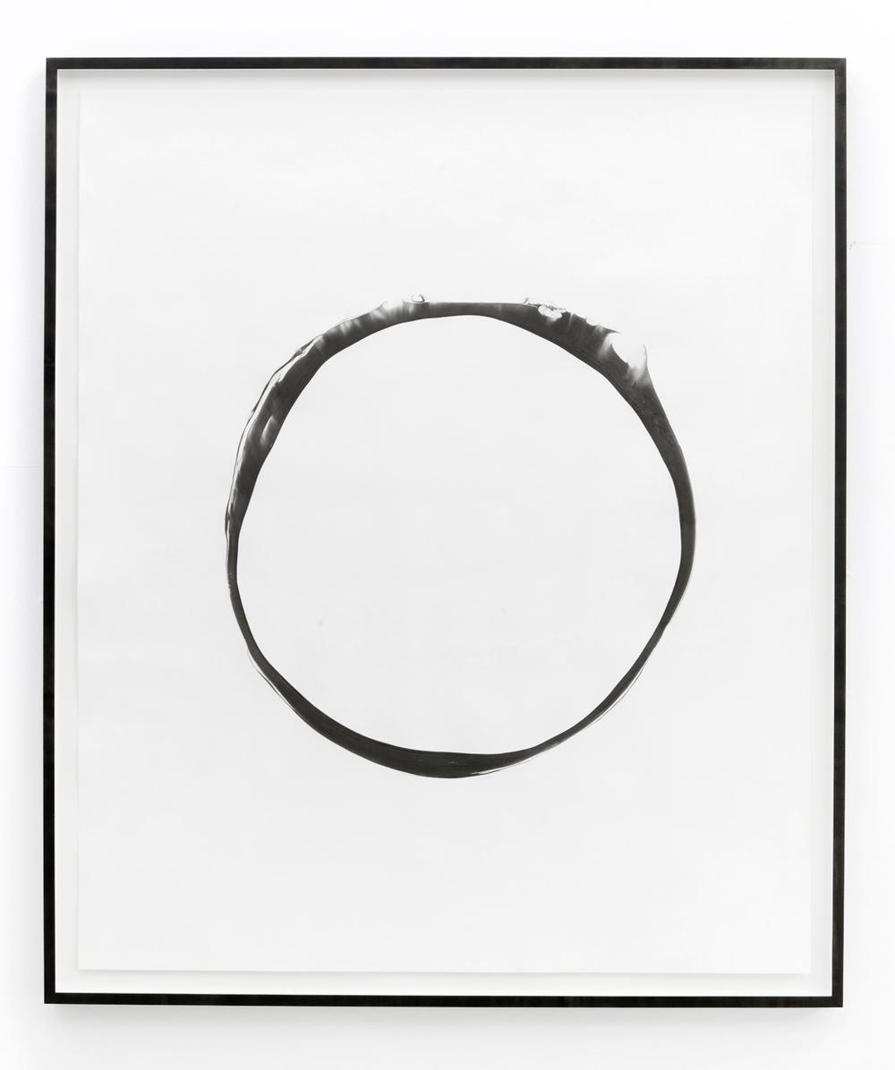 corona ll, 2012, ink on paper, 151 x 125,5cm
