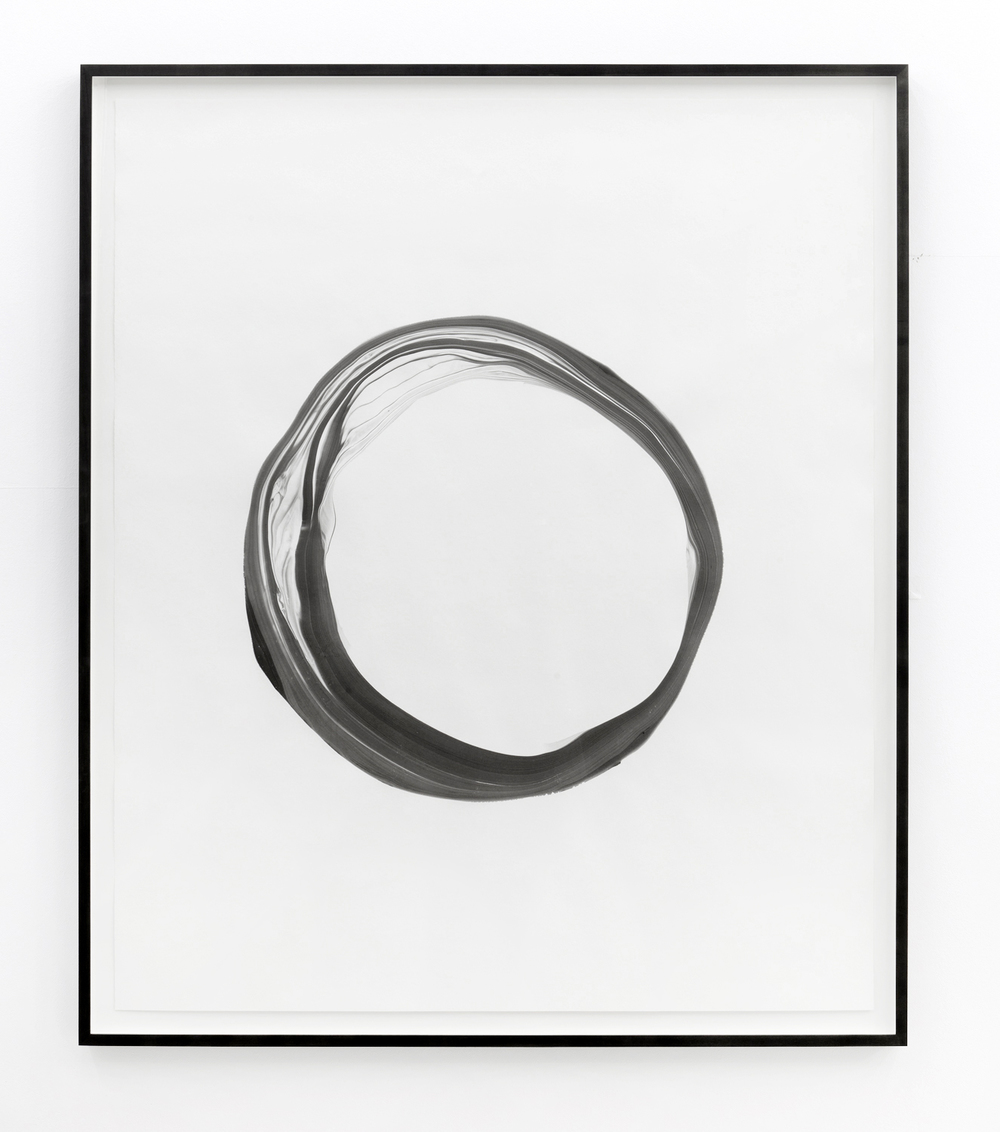 Corona lV,  2012, ink on paper, 151 x 125,5cm