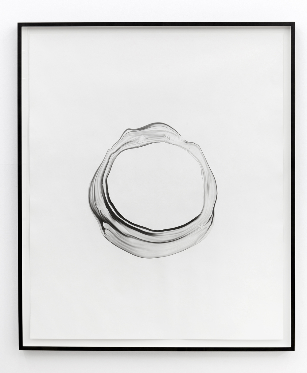 Corona lll , 2012, ink on paper, 151 x 125,5cm