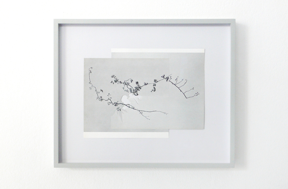 shape/ cers, 2014  , paper, glue, 25,5 x 31cm