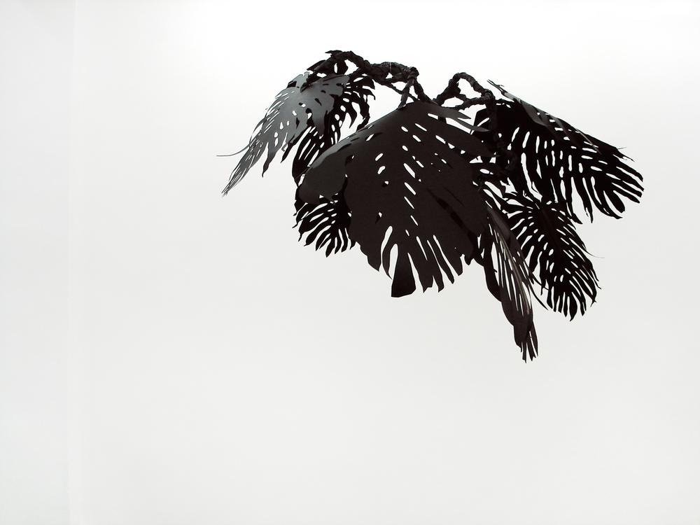 Monstera , 2007 metal, paper, glue, nylon  Drift , SchleicherLange, Paris