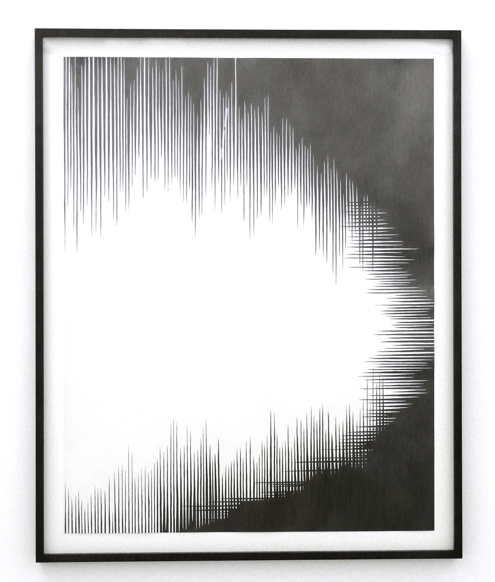dust l, 2011 pencil on paper, 110cm x 86cm