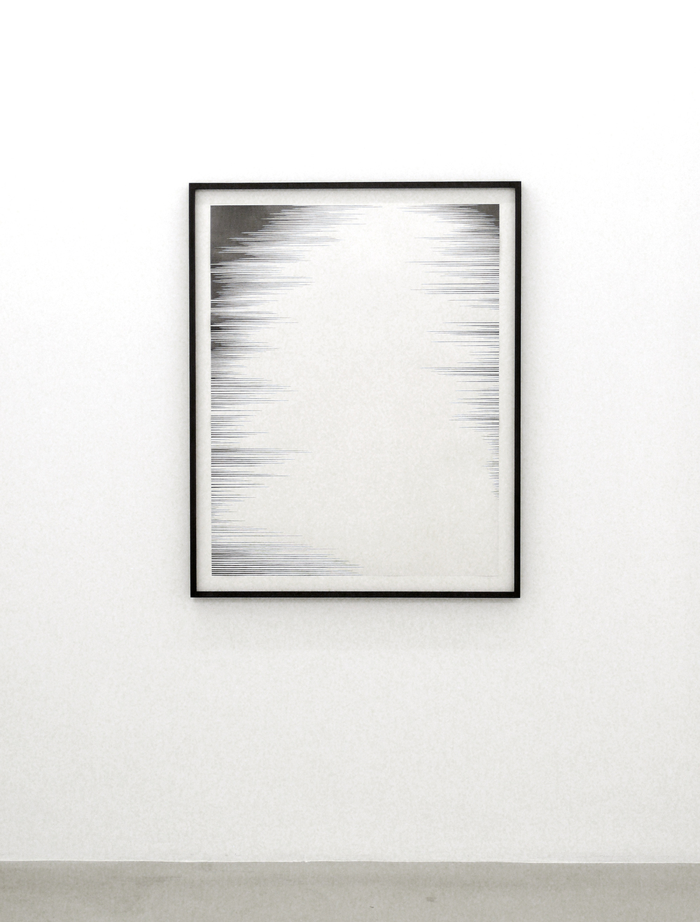 dust ll  , 2011, pencil on paper, 110 x 86cm      hyle, 2011, Lullin + Ferrari, Zürich